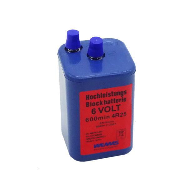 Blockbatterie 6 Volt