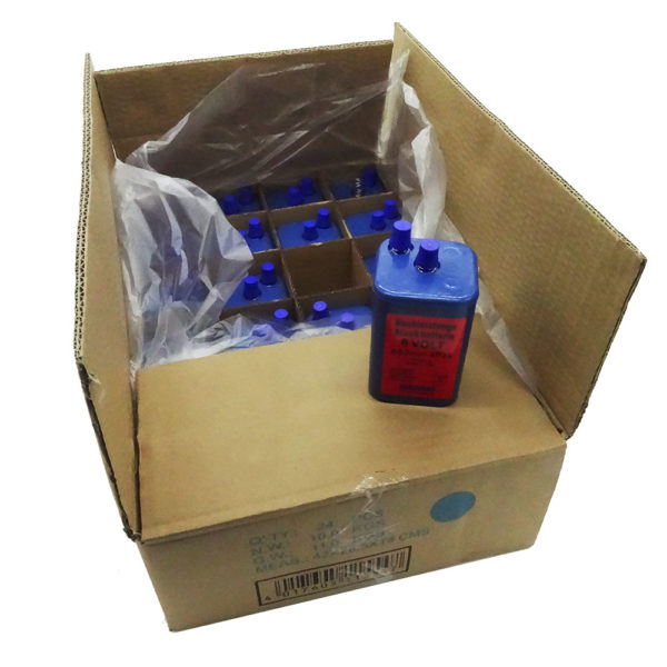 Blockbatterien 6 Volt | 24 Stück