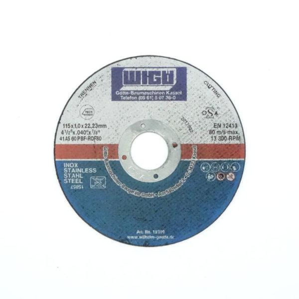 Trennscheibe Inox/Stahl, 115 mm Scheibendurchmesser