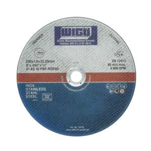 Trennscheibe Inox/Stahl, 230 mm Scheibendurchmesser