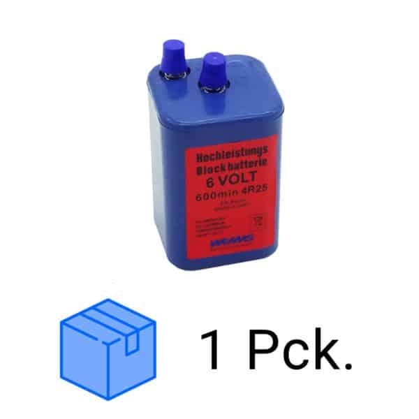 Blockbatterien 6Volt im Paket   24 Stk