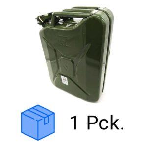 Kanister Stahl 20 L im Paket | 10 Stk