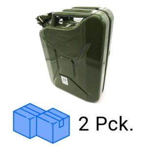 Kanister Stahl 20 L im Paket | 20 Stk