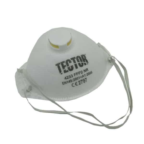 Tector Feinstaubmaske mit Ventil