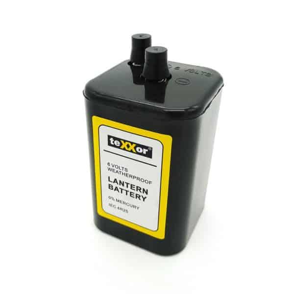 6V Blockbatterie 4R25 TEXXOR