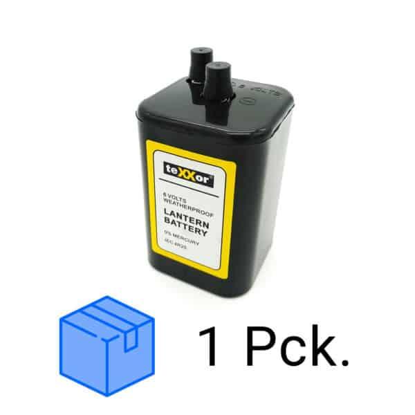 24 Stück Blockbatterie 4R25 TEXXOR