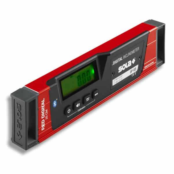 SOLA RED 25 Digital Wasserwaage elektronisch